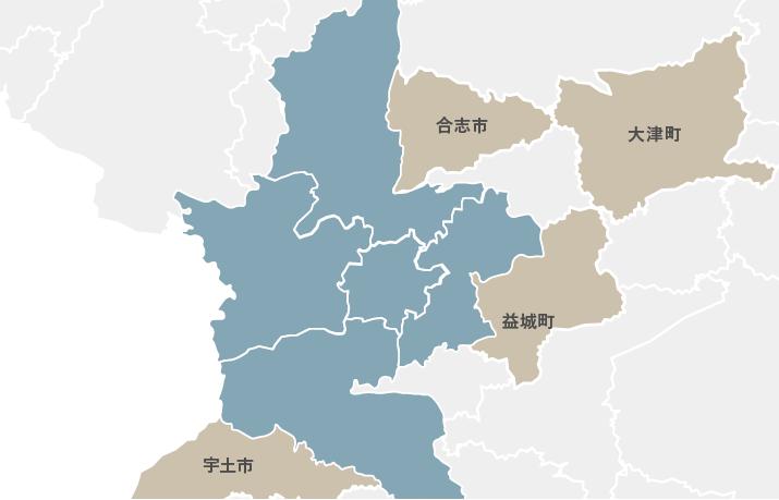 分譲地マップ