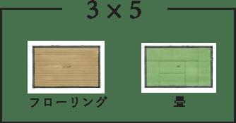 間取り例3×5